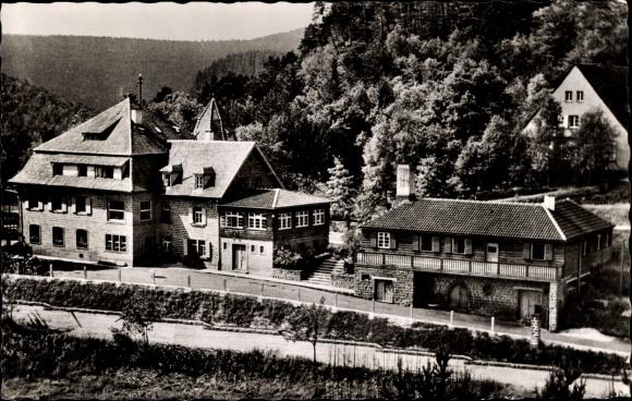 Ak Elmstein Rheinland Pfalz, Ferienheim des Touristen Vereins Die Naturfreunde