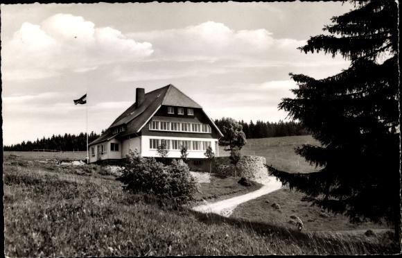 Ak Todtnau im Südschwarzwald, Jugendherberge Fleinerhaus Todtnauberg