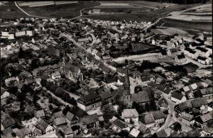Ak Birkenfeld in Rheinland Pfalz, Luftbild