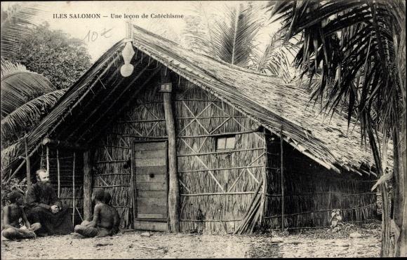 Ak Salomon Inseln, une lecon de Catéchisme