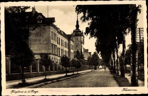 Ak Trzebiatów Treptow Rega Pommern, Kaserne 0