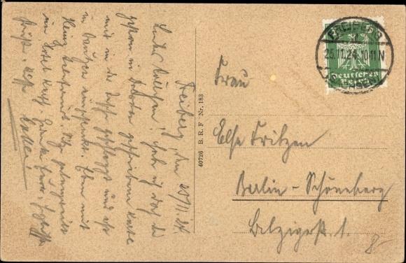 Ak Freiberg in Sachsen, Letzte große Bergparade 1905, Aufzug der Berghäuer, Ratskeller 1