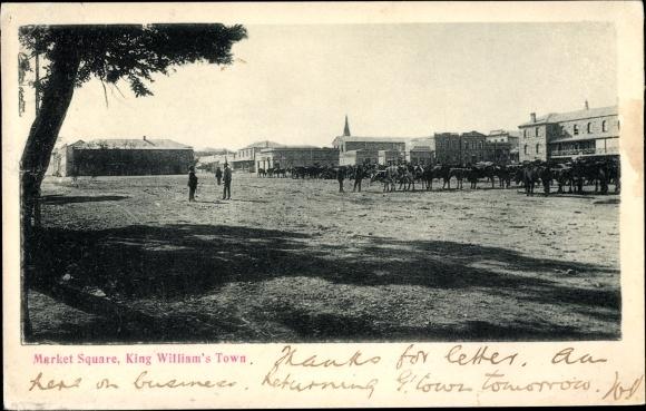 Ak King William's Town Südafrika, Market Square 0