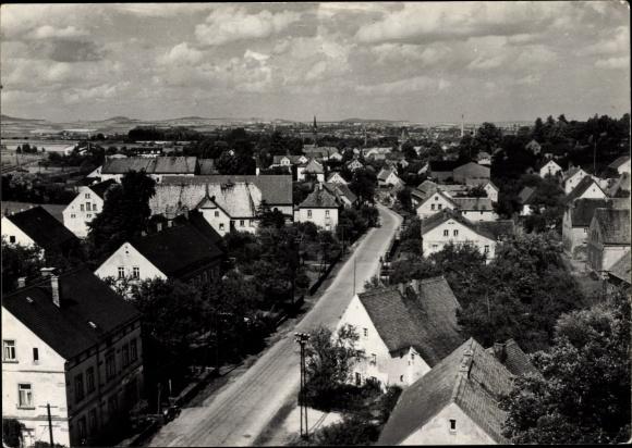 Ak Olbersdorf in Sachsen, Blick über die Dächer der Stadt 0