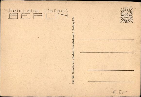 Ak Berlin, Spree am Mühlendamm 1