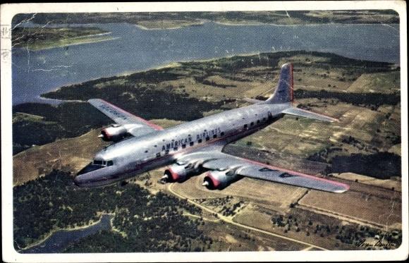 Ak American Airlines, Passagierflugzeug 0