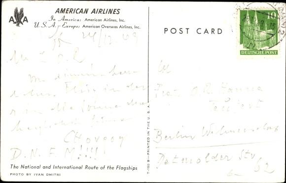 Ak American Airlines, Passagierflugzeug 1