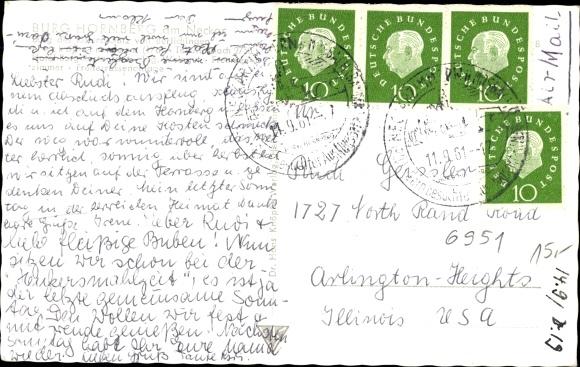 Ak Neckarzimmern im Neckar Odenwald Kreis, Burg Hornberg am Neckar 1