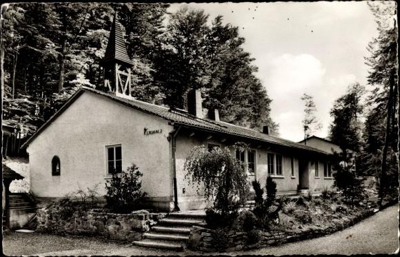 Ak Neckarzimmern im Neckar Odenwald Kreis, Evangelisches Jugendheim