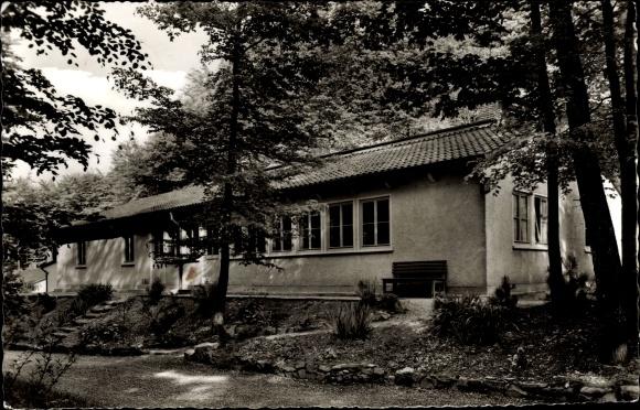 Ak Neckarzimmern im Neckar Odenwald Kreis, Evangelisches Jugendheim 0