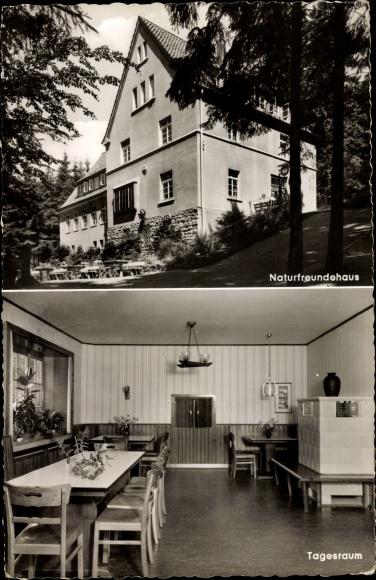 Ak Oerlinghausen Lippe, Bielefelder Naturfreundehaus am Tönsberg 0
