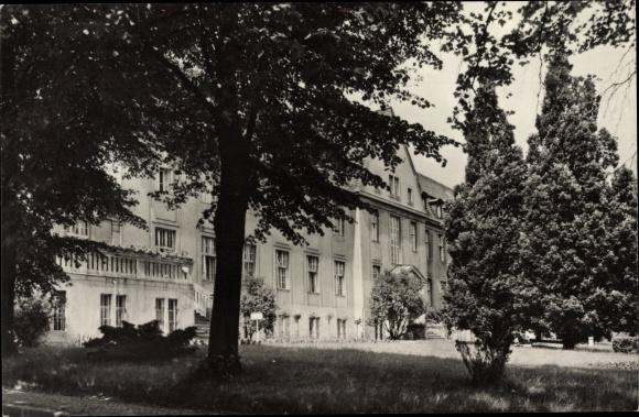 Ak Bernau bei Berlin, Kreiskrankenhaus 0