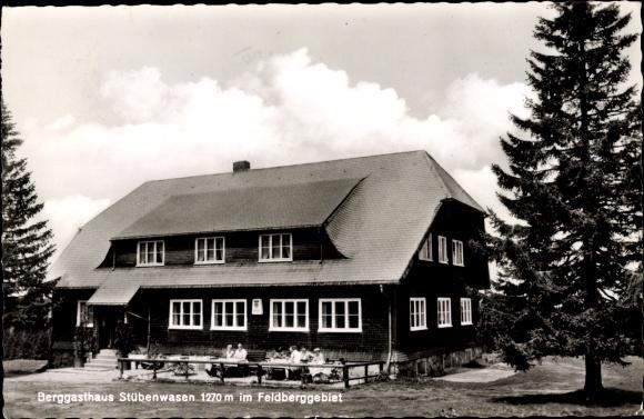 Ak Todtnau im Südschwarzwald Kreis Lörrach, Berggasthaus Stüberwasen 0
