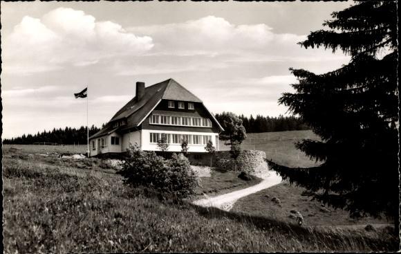 Ak Todtnau im Südschwarzwald, Jugendherberge Fleinerhaus 0