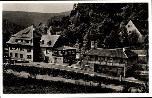 Ak Elmstein Rheinland Pfalz, Ferienheim der Naturfreunde
