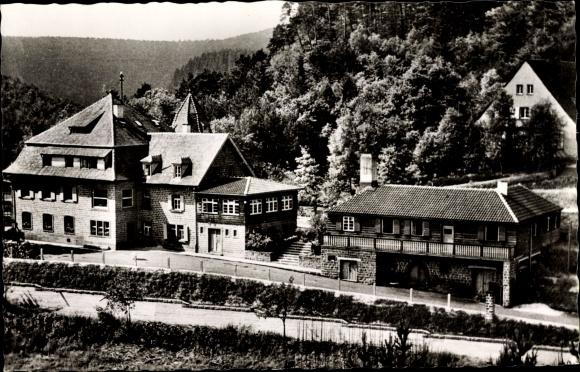 Ak Elmstein Rheinland Pfalz, Naturfreundehaus 0