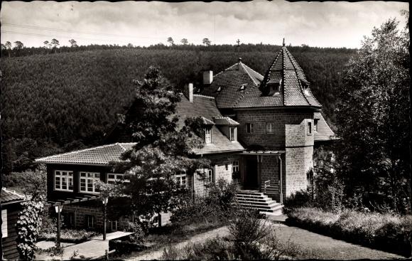 Ak Elmstein Rheinland Pfalz, Naturfreundehaus