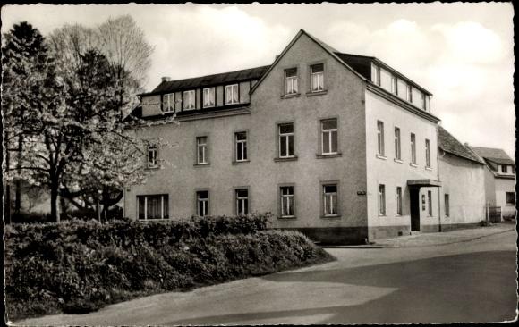 Ak Höhr Grenzhausen im Westerwaldkreis, Gasthof zum Hopfengarten 0