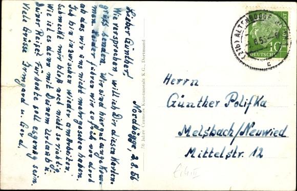 Ak Altenbögge Bönen Westfalen, Zeche Königsborn Schacht III/IV, Ehrenmal, Bad 1