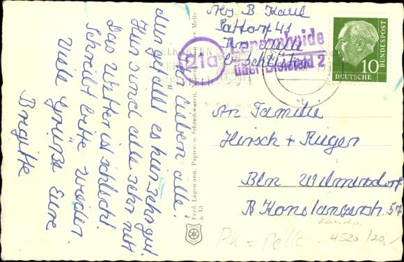 Ak Neuenkirchen Nordrhein Westfalen, Haus Lazarus, Neue Volksschule, Landjugendheim 1
