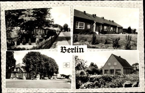 Ak Berlin Seedorf im Kreis Segeberg, Dorfpartie 0