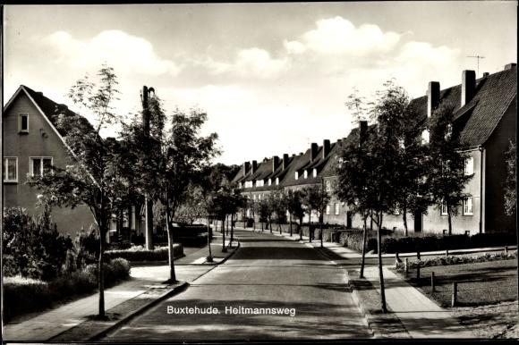 Ak Buxtehude in Niedersachsen, Heitmannsweg 0