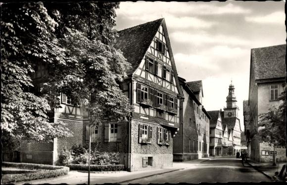 Ak Kirchheim unter Teck, Max Eyth Haus 0
