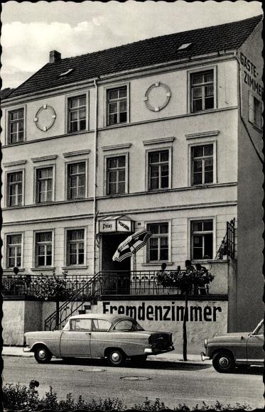 Ak Remagen im Kreis Ahrweiler, Pension Prinz, Rheinpromenade 21 0
