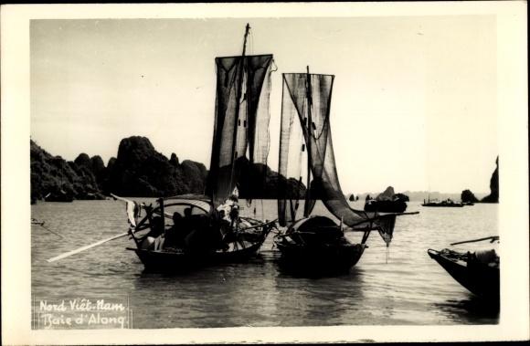 Foto Ak Vietnam, Baie d'Along, Fischerboote 0