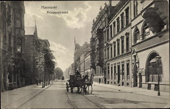 Ak Hannover in Niedersachsen, Prinzenstraße, Kutsche 0