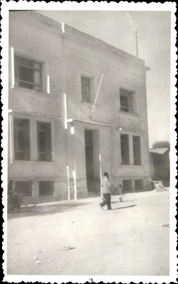 Foto Ak Marokko, Rathaus, Straßenansicht 0