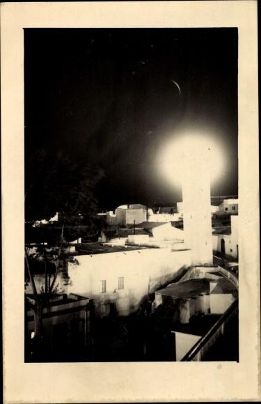 Foto Ak Aïd el-Kebir Marokko, la petite mosquée de nuit