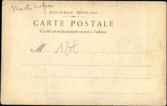Künstler Ak Saint Pierre Martinique, Le Lendemain de la Catastrophe du Mai 1902 1