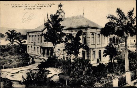 Ak Fort de France Martinique, L'Hôtel de Ville 0