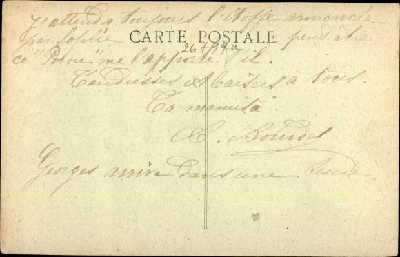 Ak Fort de France Martinique, L'Hôtel de Ville, auquel s'adosse la construction du nouveau Théâtre 1
