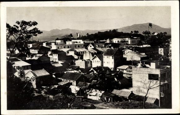 Ak Milon Fort de France Martinique, Vue générale