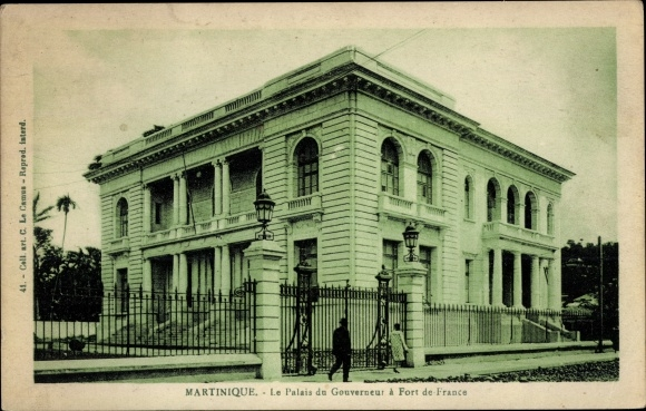 Ak Fort de France Martinique, Le Palais du Gouverneur 0