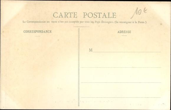 Ak Martinique, Le Bourg de Sainte Marie après le Cyclone de 1903 1