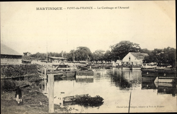 Ak Fort de France Martinique, Le Carénage et l'Arsenal 0