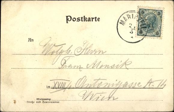Ak Mariazell Steiermark, Wallfahrtskirche 1