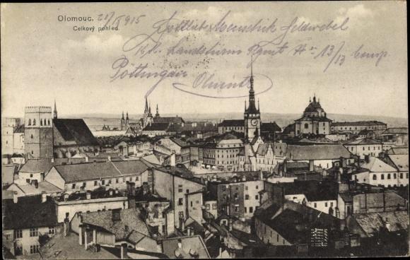 Ak Olomouc Olmütz Stadt, Gesamtansicht 0