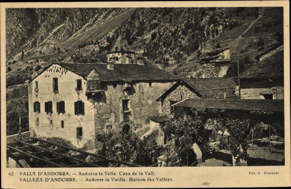 Ak Andorra la Vella Andorra, Casa de la Vall 0
