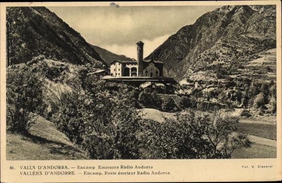 Ak Andorra la Vella Andorra, Encamp, Emissora Radio Andorra