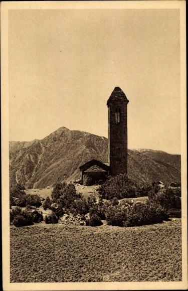 Ak Engolasters Andorra, Église de Saint Michael 0