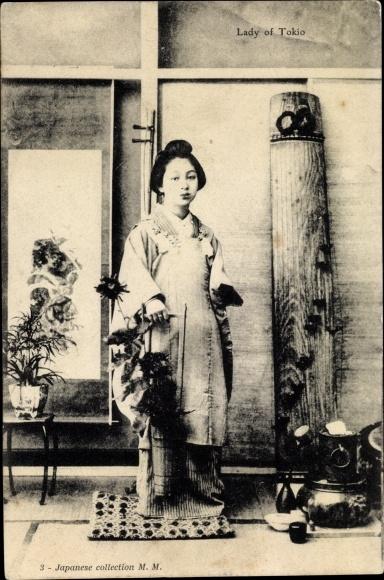 Ak Tokio Präf. Tokio Japan, Lady of Tokio, Portrait 0