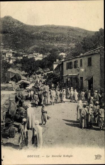 Ak Bougie Bejaia Algerien ,Le Marché Kabyle 0