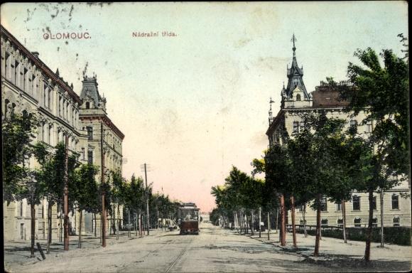Ak Olomouc Olmütz Stadt, Nadrazni trida