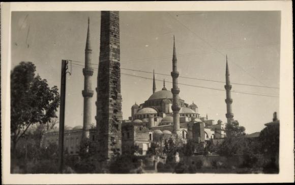 Ak Konstantinopel Istanbul Türkei, Mosquée de Suleimanie 0
