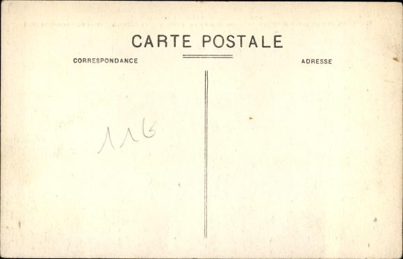 Ak Saint Pierre Martinique, Bloc énorme apporté près de la mer par les nuées ardentes de nov. 1902 1