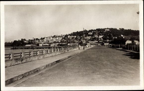 Ak Milon Fort de France Martinique, Le Boulevard Maritime 0